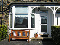 front view of Ramblers self catering cottage in Bowness